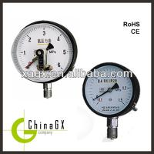 China Vacuum compound pressure gauge on sale