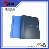 Filling Products PP File Folder A4 Bule 2 Ring Binder Document Folder Ring Binders Manufactures