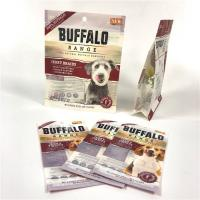 Hot Sealed Pet Food Pouch Side Guseet Plastic Ploy Customized Logo CMYK Color Manufactures