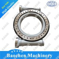 HSE25 china lifting crane slewing drive supplier customized connecting rod type bracket tracking slewing drive Manufactures