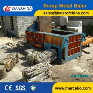 New Condition automatic PLC control Scrap Metal Compactors to baler Non Ferrous Metals Manufactures