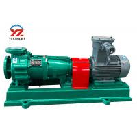 Blastproof Motor Acid Centrifugal Pump For Caustic Soda Sulfuric Transfer Manufactures
