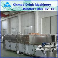Industrial Carbonated Juice Mixing Machine / Bottle Spray Cooling System Manufactures
