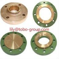 China CuNi 90/10 Copper Nickel Slip on Flanges EEMUA 145/ANSI/ASME B16.5 on sale