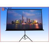 China Large Motorized Projector Screen , Electric Pull Down Projector Screen on sale
