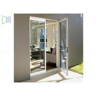Glass Hinged Aluminium Casement Door For Commercial and Residential Manufactures