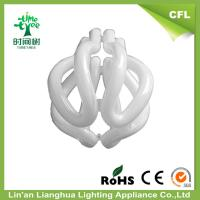 CFL Raw Material Transparent Glass Tube For 4U 55W 60W CFL Light Bulbs Manufactures