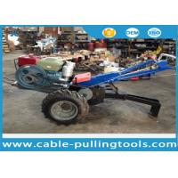 5 Ton Double Drum Tractor Winch With Water-Cooled Diesel Engine For Cable Pulling Manufactures