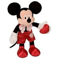 Hot and Custom Valentines Day Stuffed Toys Mickey Mouse Plush Doll 16 inch Manufactures