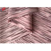 4 Way Stretch Weft Knitted Melange Fabric Yard Dyed Single Jersey Fabric For T-shirt Manufactures
