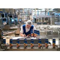 1000LPH Carbonated Drink Production Line , Soft Drink Making Machine Manufactures