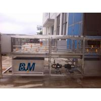 China Professional Custom Stainless Steel Loop / Crate Washer Machine For Chicken on sale