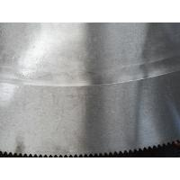 Steel section cutting 45Mn2V material hollow ground taper circular hot cut saw blade Manufactures