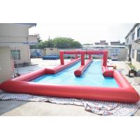 50m Inflatable Water Slide , Inflatable Long Slide For City Road Manufactures