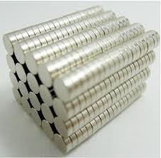 China Ni-Cu-Ni Coatings High magnetic performance Strong NdFeB Neodymium Disk Magnets on sale