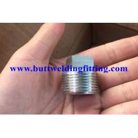 ASTM A694 F42 / F52 / F60 / F65 / F70 ANSI S16.11 Forged Pipe Fittings Hex Head Plug Manufactures