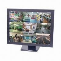 China 19-inch CCTV LCD Monitor with 3D Digital Comb Filter and 3D Digital Noise Reduction on sale