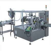 Buy cheap juice liquid filling stand up pouch filling and sealing machine from wholesalers