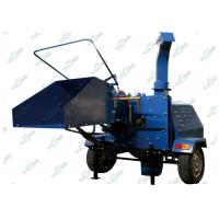 Diesel Engine Mobile Wood Chipper Equipment 10 - 30T / H Forestry Machinery Manufactures