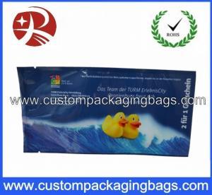 Printed Plastic Food Packaging Bags , Side Gusset Wet Wipes Tissue Packaging Bag Manufactures