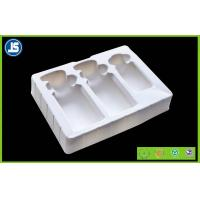Quality Cosmetic flocking vacuum formed plastic trays blister with Recycled for sale