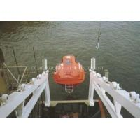 Free Fall Life Boat/Rescue Boat Davit 50 Persons Lifesaving Equipment Manufactures
