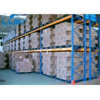 Double Deep Industrial Storage Rack Corrosion Protection Anti Rust Manufactures