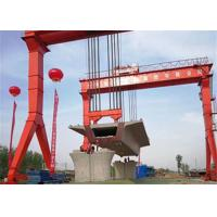 China 25 Tons Double Beam Overhead Gantry Crane For Lifting Sands And Stones on sale
