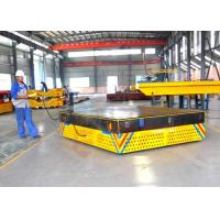 25t mold handling electric trackless car on concrete ground battery power Manufactures