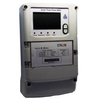 China Load Control Wireless Electricity Meter Scroll Down Display Three Phase Energy Meters on sale