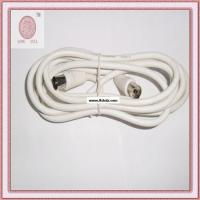China 9.5mm white TV cable on sale