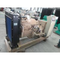 China Brushless Air Cooling Marine Generator Set 100KW /125KVA Pre - High Water Temperature Alarm on sale
