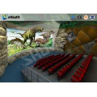 Large 360 Degree Screen 4D Movie Theater With 4D Simulator Can Hold 60-100 People Manufactures