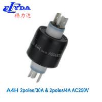 China A4H mercury slip rings 2poles/30A&2poles/4A on sale