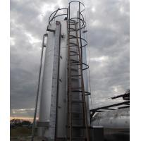 China Large Capacity Hot Asphalt Heating Tank With 1 Agitator High Heating Efficiency on sale