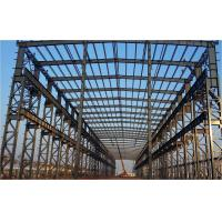 Prefab Steel Industrial Building / Steel Frame Industrial Buildings Construction Manufactures