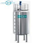 100000 Liter Stainless Steel Storage Tank Vertical Type For Water / Milk / Juice Storage Manufactures