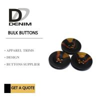 China Small Coat Garment Buttons Style & Design Unique Bulk For Clothing Brands on sale