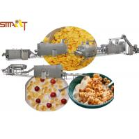 Sus NSK Bearings Breakfast Cereal Production Line Making Corn Flakes Manufactures
