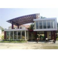 Two Storey Prefab Durable Flat Pack Container House Light Steel Material Manufactures