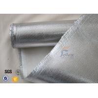 800℃ 700g 0.8mm Silver Coated High Silica Fabric Cloth For Heat Resistant Manufactures