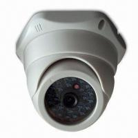 Dome Camera with Plastic Case, 1/3-inch DPS Sensor, 480TVL Resolution and 15m IR Distance  Manufactures