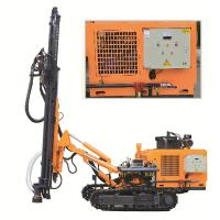 Quality DTH Rock Well Drill Rig KG430SH Punching Machine For Hard Rock Rotary Drilling Rig for sale