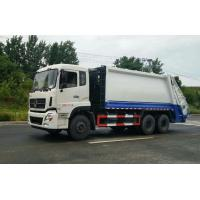 Large Volume Waste Compactor Truck , Waste Management Garbage Truck With Auto Discharging Manufactures