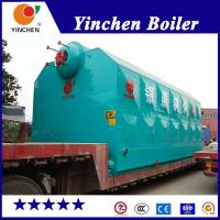 Wood Fired Steam Generator Industrial Biomass Boiler 4-20 Ton Steam Output Manufactures