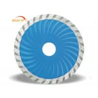 "4"" - 8"" Dry Cut Segmented Diamond Blade Stone Cutting With Ti Coated Finishing Manufactures"