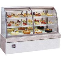 China supermarket mini refrigerator cake showcase with lcd display cabinet on sale