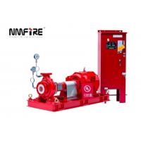 NM Fire UL / FM 500 GPM End Suction Fire Pump with Eaton Electric Control Panel Manufactures