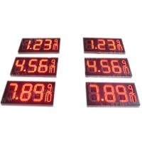 8.88 9 / 10 Led Gas Price Display , Digital Gas Station Price Signs Outdoor Type Manufactures