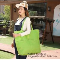Bags Factory Price Shopper 600D Polyester Tote Bag,Foldable Large Open Polyester Shopper Tote Bag With Full Mesh Body Manufactures